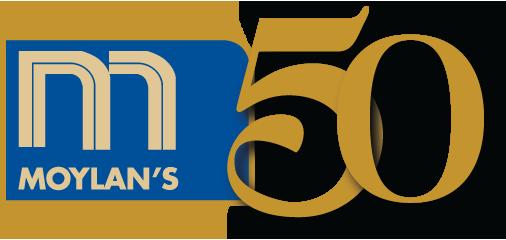 Moylan's 50 logo